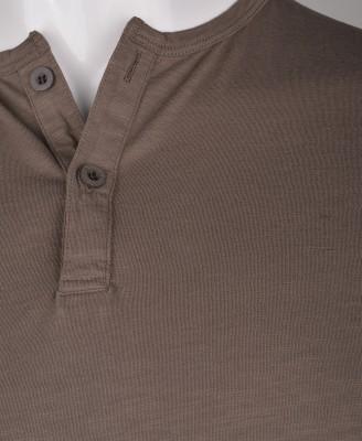 %100 Pamuk Düğmeli T-shirt (1210) - Thumbnail