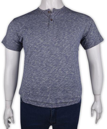%100 Pamuk Düğmeli T-shirt (1185)