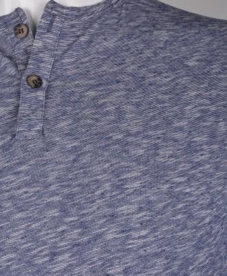 %100 Pamuk Düğmeli T-shirt (1185) - Thumbnail