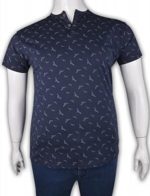 ZegSlacks - %100 Pamuk Penye Düğmeli T-shirt (2082)