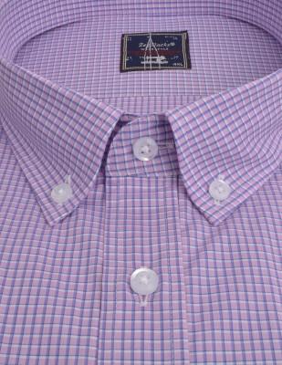 ZegSlacks - % 100 Pamuk Spor kısakol Gömlek (3657)