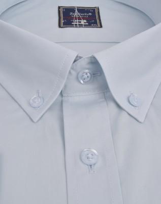 ZegSlacks - % 100 Pamuk Uzunkol Gömlek (3679)/Buz Mavi