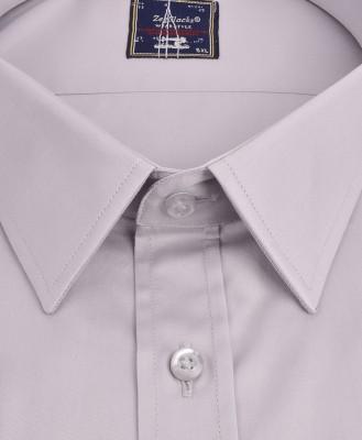 ZegSlacks - % 100 Pamuk Klasik Uzunkol Gömlek/GRİ (3705)