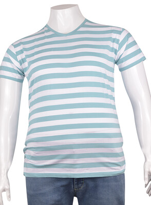 ZegSlacks - V Yaka Basic T-Shirt (tst0278)