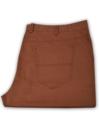 ZegSlacks - İnce Likralı spor chino pantolon/Normal bel /Bakır ( 4569 )