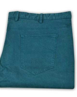ZegSlacks - Likralı spor chino pantolon/Bacak dar kesim/petrol mavi
