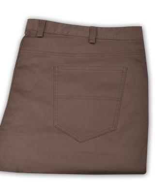 ZegSlacks - İnce Likralı spor chino pantolon/Normal bel /Vizon ( 4571 )