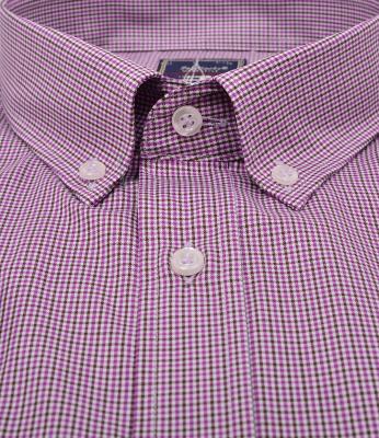ZegSlacks - % 100 Pamuk Uzun Kol İnce Yazlık Spor Gömlek (gml3040)