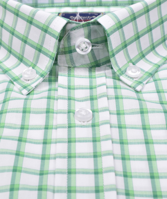 ZegSlacks - % 100 Pamuk Kısa Kol Gömlek (3044)