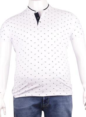 ZegSlacks - Pike Kumaş Düğmeli T-Shirt (Pk0326)
