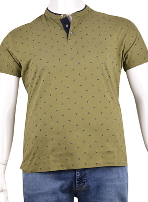 ZegSlacks - Pike Kumaş Düğmeli T-Shirt (Pk0333)
