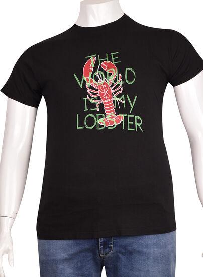 Sıfır Yaka Baskılı T-Shirt (BKT0303)
