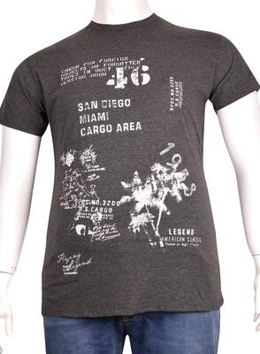 ZegSlacks - Sıfır Yaka Baskılı T-Shirt (BKT0304)