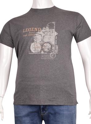 ZegSlacks - Sıfır Yaka Baskılı T-Shirt (BKT0315)