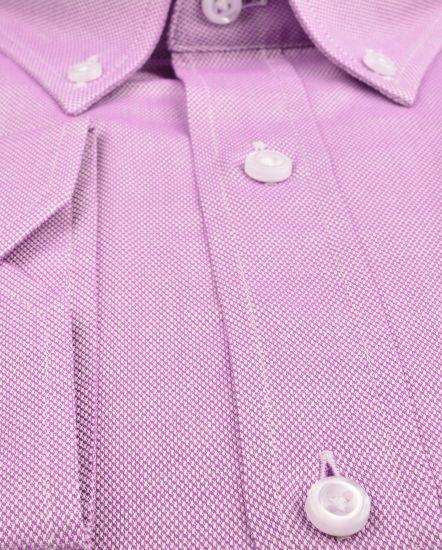 % 100 Pamuk Spor Gömlek (gml4214)/LİLA